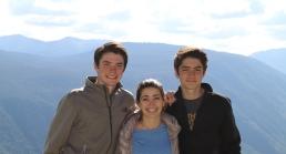 Me (Far Left), Taite, and Sam